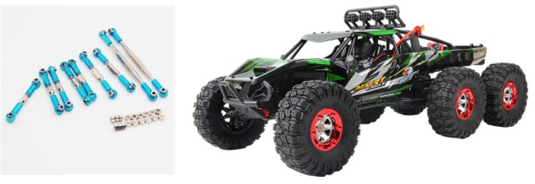 feiyue fy06 6wd rc truck upgrades