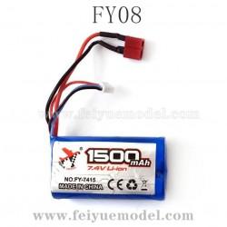 FEIYUE FY08 Parts, 7.4V 1500mAh Battery