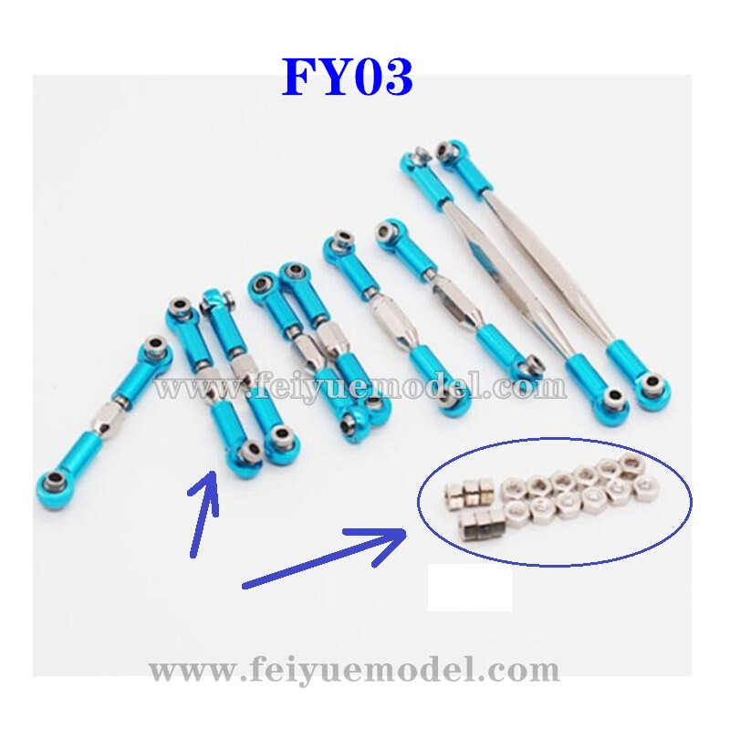 Feiyue FY03 Upgrade Parts,  Connect Rod sets